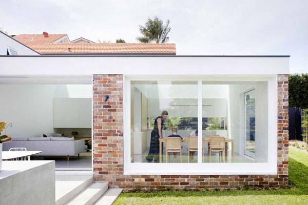 Granny flat brick extension