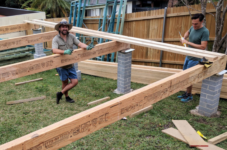 granny flats bearers and joists