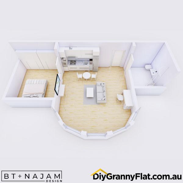 bay window granny flat