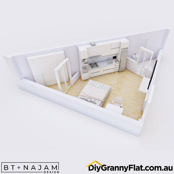 unique granny flat design