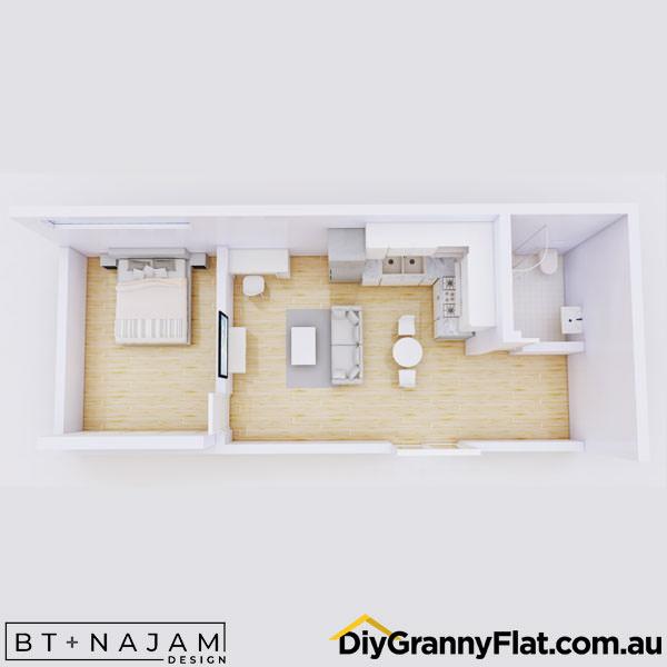 studio granny flats
