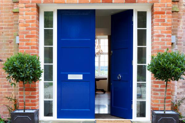 granny flat front door